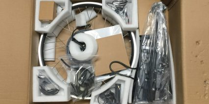 Dillenger 750w Gearless Electric Bike Kit Unboxing