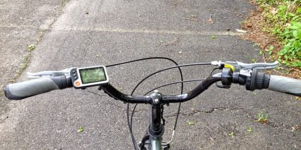 E Bikekit 500 Direct Drive Cockpit Lcd Display