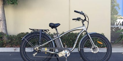 E Lux All Trac Electric Cruiser Bicycle