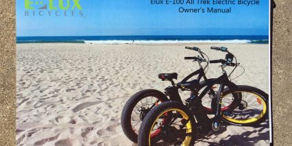 E Lux Model E 100 Fat Cruiser Manual