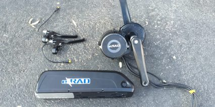 E Rad 350 Watt Electric Bike Conversion Kit