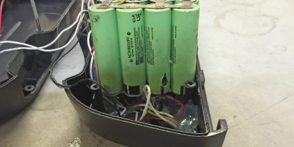 E Rad 36 Volt Panasonic 18650 Cells