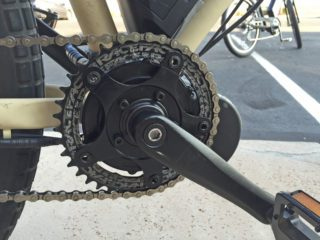 E Rad 500 Mid Drive With Race Face Nw Chainring