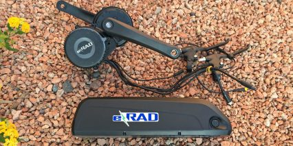 E Rad 500 Watt Electric Bike Conversion Kit