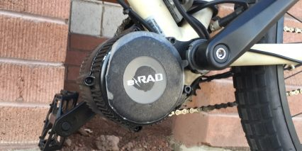 E Rad 500 Watt Mid Drive Geared Motor For Ebikes