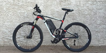 E Rad 750 Watt Kit On Giant Full Suspension Ebike