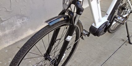 Easy Motion Bosch City Wave Suntour Suspension