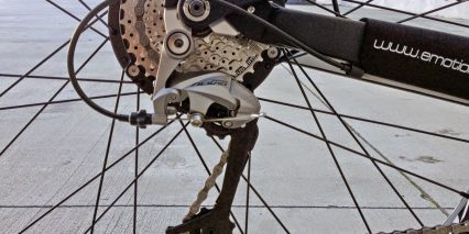 Easy Motion Evo Cross Shimano Alivio Cassette