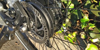 Easy Motion Neo Carbon 350 Geared Hub