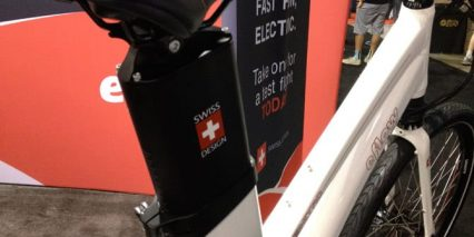 Eflow Step Through Battery Pack Seat Post