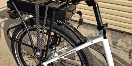 Eg Maui Ex Rear Carry Rack With Bungees