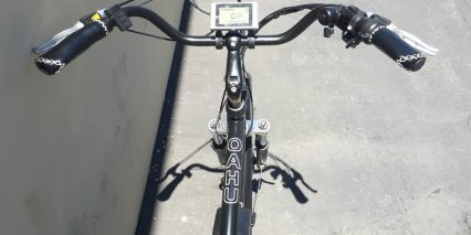 Eg Oahu 500 Ex Cruiser Bars Stitched Ergonomic Grips Lcd Display