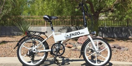 Enzo Ebikes Folding Electric Bike