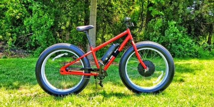 Falco Hx 500 Fat Tire Electric Bike