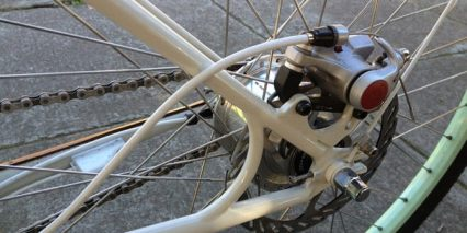 Faraday Porteur Rear Disc Brake