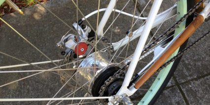 Faraday Porteur Shimano Alfine 8 Gear Hub