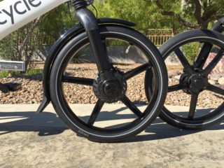 Gocycle G2 20 In Vredestein Wheels 500 Watt Front Hub Motor