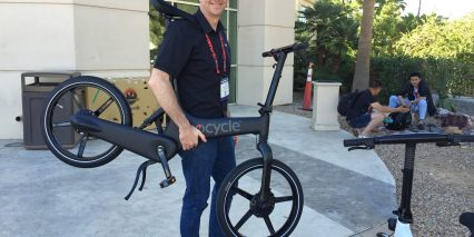 Gocycle G2 Company Founder Richard Thorpe