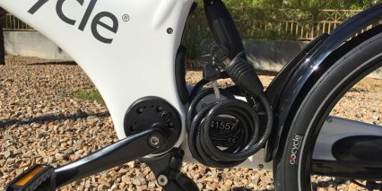 Gocycle G2 Optional Cable Lock