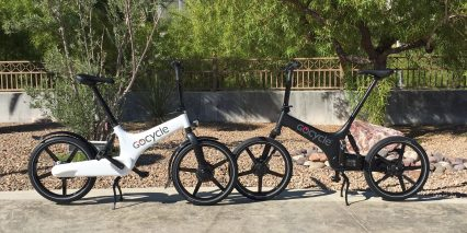 Gocycle G2 White And Black