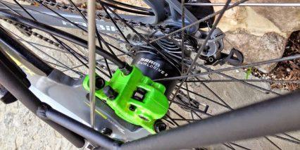 Haibike Trekking Rx Rear Disc Brake