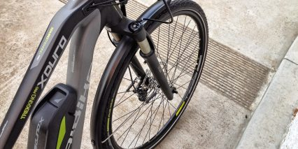 Haibike Xduro Trekking Pro Remote Suspension Lockout