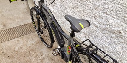 Haibike Xduro Trekking Pro Saddle Rear Rack