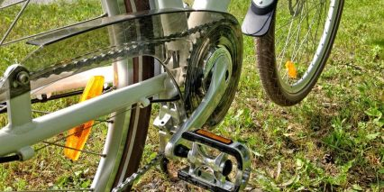Igo Metro Step Thru Chain Guard Fenders