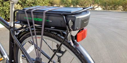 Izip E3 Path Plus Battery Bungee Rack