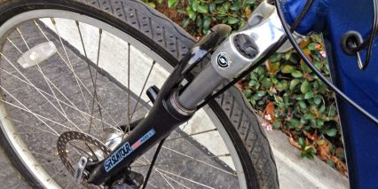 Izip Urban Cruiser Enlightened Suntour Nex Suspension