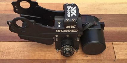 Kranked E Squared Chainring Side Closeup