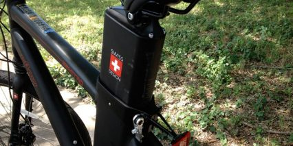 Lithium Battery Built Into Downtube