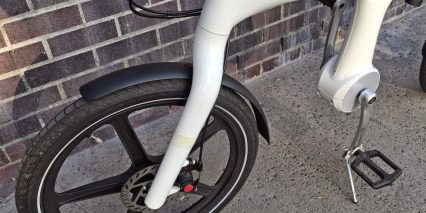 Mando Footloos Front Fork And Wheel