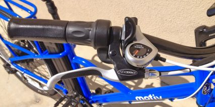 Motiv Sherpa Half Grip Throttle
