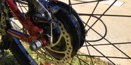 Motiv Sleek 500 Watt Motor Disc Brakes