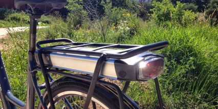 Optibike Pioneer City Battery Rack Light