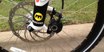 Oversized Disc Brakes Front And Rear