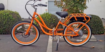 Pedego 24 Step Thru Comfort Cruiser