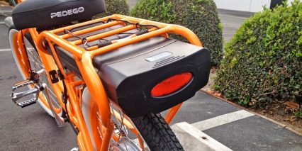 Pedego 24 Step Thru Comfort Cruiser Removable Battery