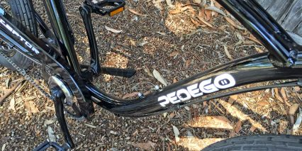 Pedego Classic Interceptor Downtube Bottle Cage Bosses