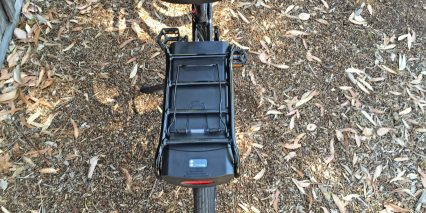 Pedego Classic Interceptor Rear Mounted Battery Pack Led Power Level