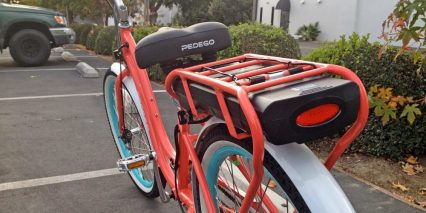 Pedego Step Thru Comfort Cruiser Removable Battery Pack
