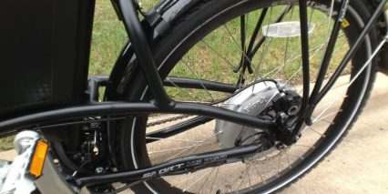 Rear Fender Wellgo Pedals