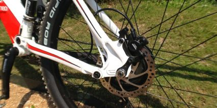 Rear Hydraulic Disc Brakes Ebike