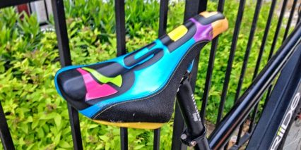 Riide Electric Bike Colored Saddle