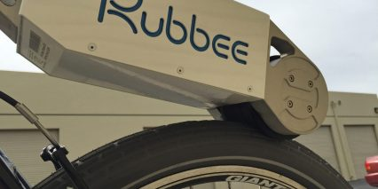 Rubbe Ebike Kit Underside View