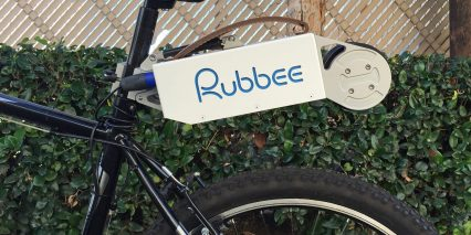 Rubbee Drive 2 0 Ebike Kit Up Position