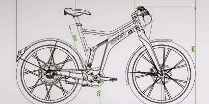 Smart Ebike Frame Size Dimensions