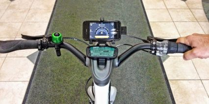 Smart Ebike Smart Phone App Display