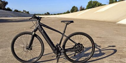 Specialized Turbo X In Los Angeles Riverbed